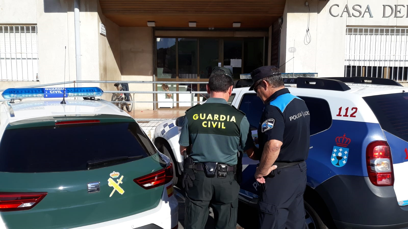 Guardia Civil Marin Policia Local Bueu