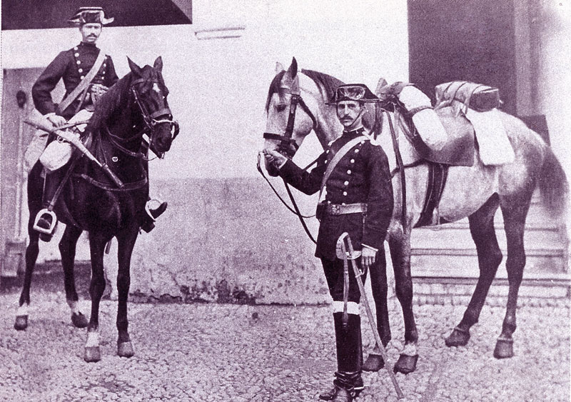Guardia Civil ano 1889