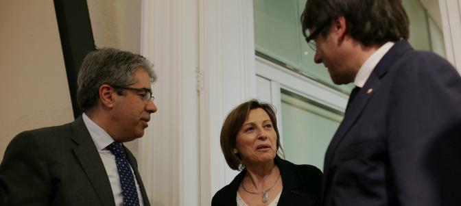 forcadell con puigdemont y homs