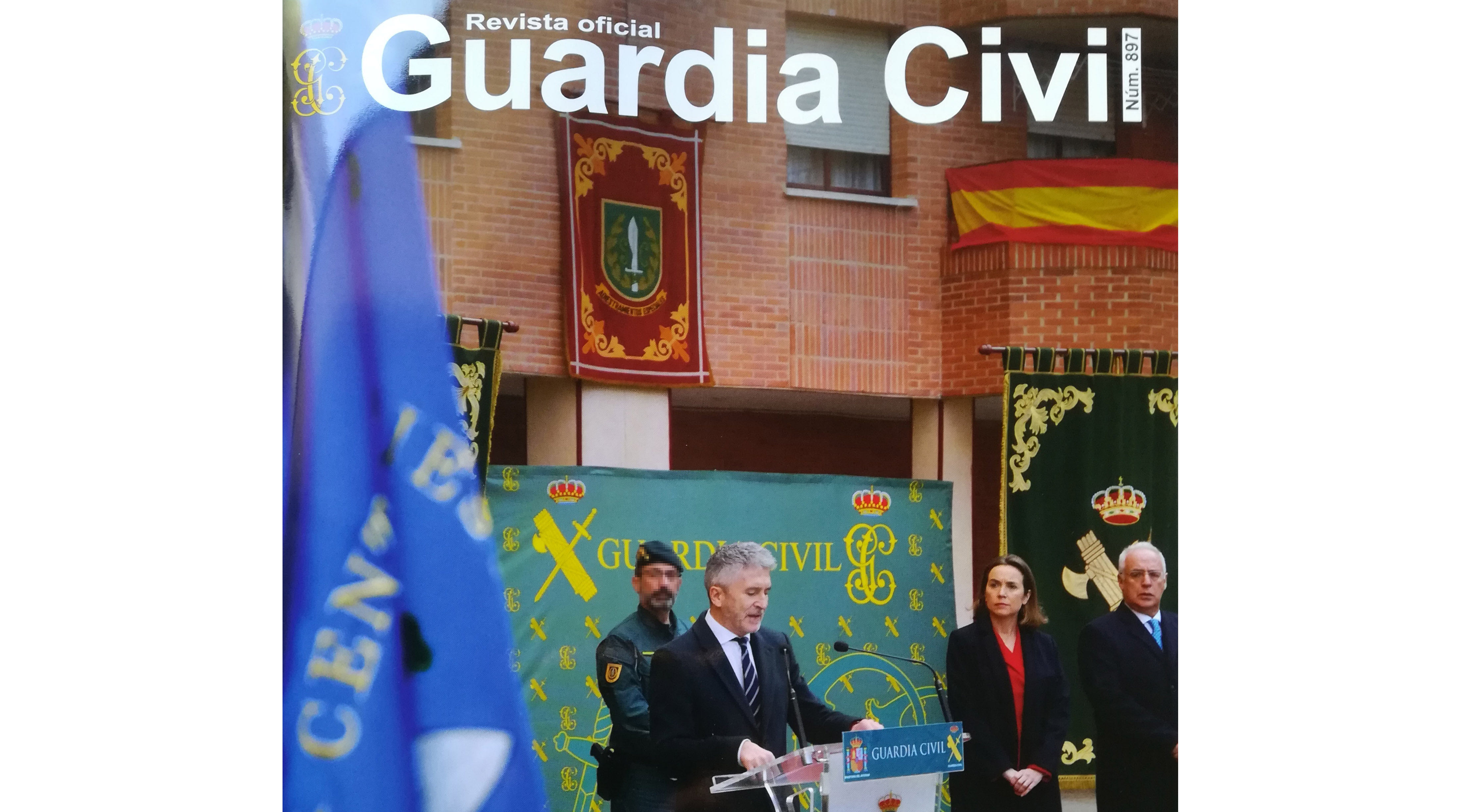 portada revista oficial Guardia Civil