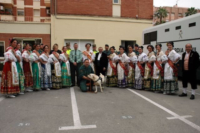 Reina huerta damas honor guardia civil murcia