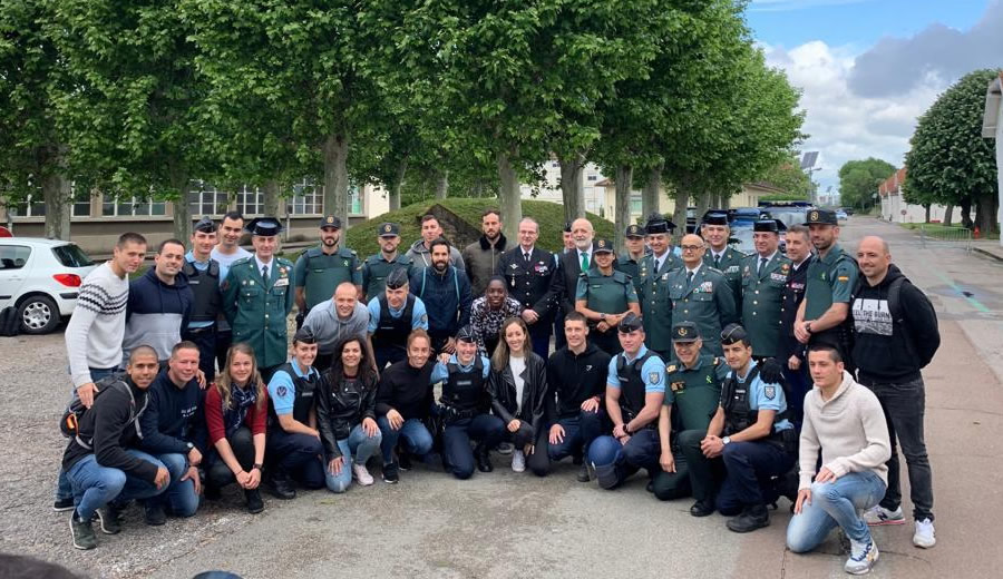 guardia civil finalizacion curso Dijon