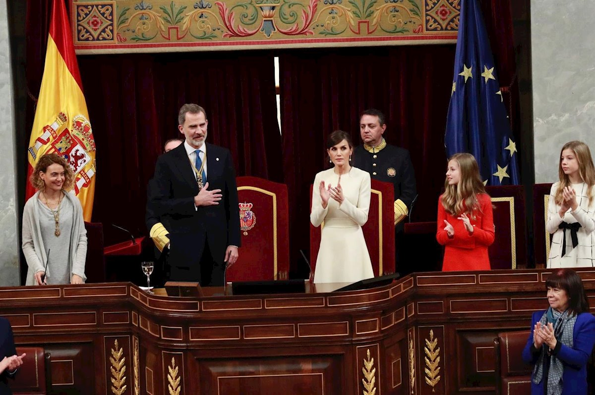fotonoticia rey ceremonia apertura legislatura